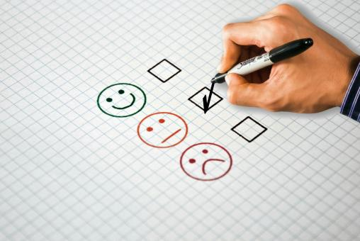 Free Stock Photo of Customer Satisfaction Survey