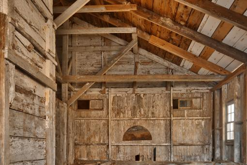 Free Stock Photo of Rustic Barn Emoticon