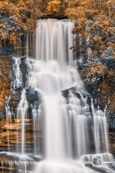 Free Stock Photo of Lone Twin Fantasy Falls