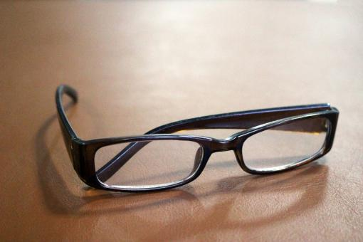 Free Stock Photo of Pair of reading glasses