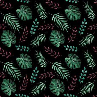 Free Stock Photo of Tropical Leaves Pattern