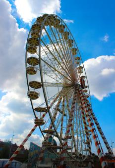 Free Stock Photo of Giant Wheel -Toulouse - France