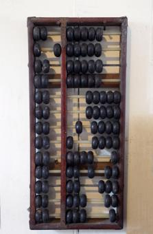 Free Stock Photo of An Old Wooden Abacus
