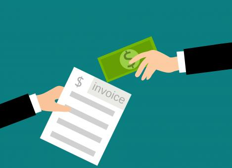 Free Stock Photo of Invoice Payment Graphic