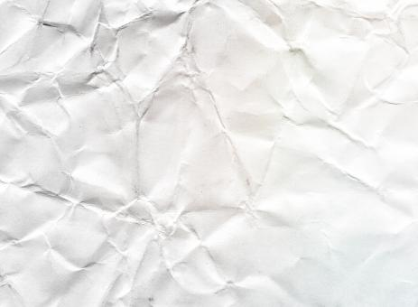 Free Stock Photo of Crumpled White Paper Texture