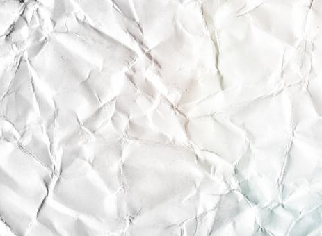 Free Stock Photo of White Abstract Crumpled Paper Background