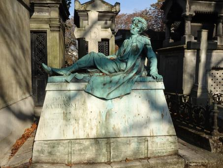 Free Stock Photo of Polish funerary monument. Cemetery, Paris. France
