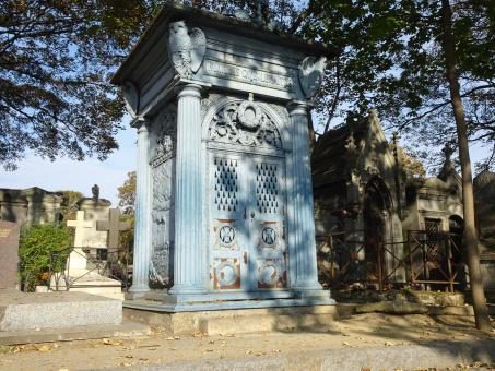 Free Stock Photo of Only grey-blue funerary monument