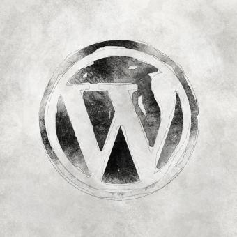 Free Stock Photo of Wordpress Logo Vintage