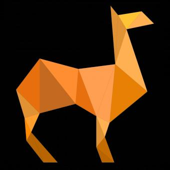 Free Stock Photo of Polygonal Camel