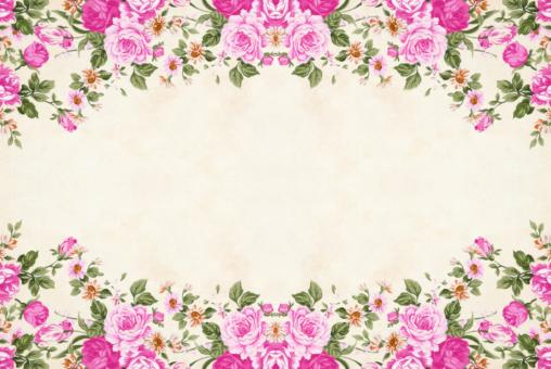 Free Stock Photo of Pink Floral Paper Background