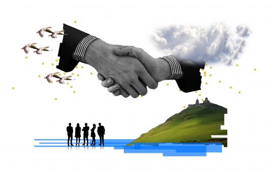 Free Stock Photo of Handshake - Agreement Concept - Compromise