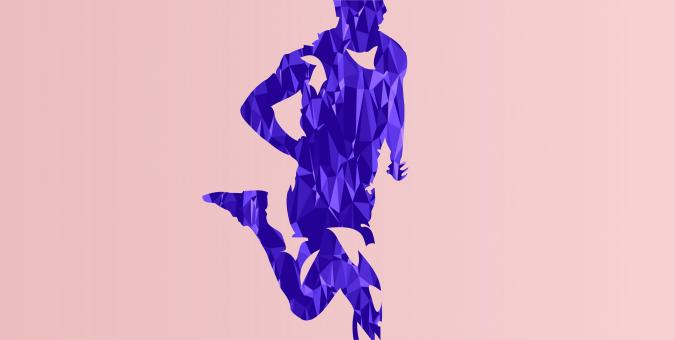 Free Stock Photo of Runner - Abstract Athlete