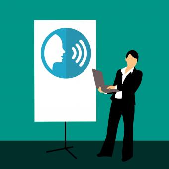 Free Stock Photo of Communication Training Illustration