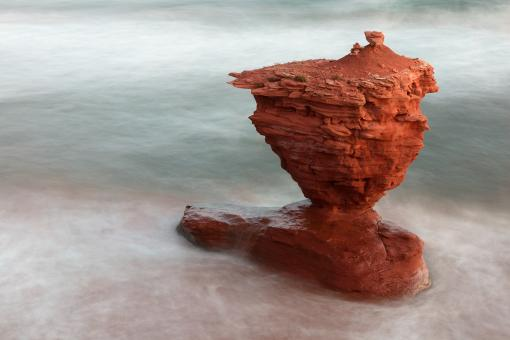 Free Stock Photo of Fluid Teapot Rock