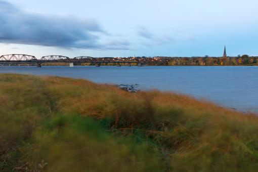 Free Stock Photo of Fredericton Dawn River