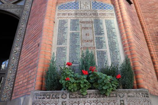 Free Stock Photo of 1st World War memorial in a church