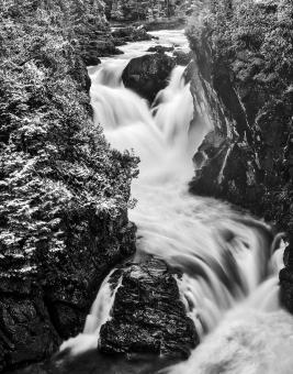Free Stock Photo of Dorwin Noir Falls