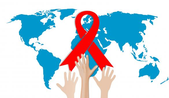 Free Stock Photo of AIDS Day Illustration