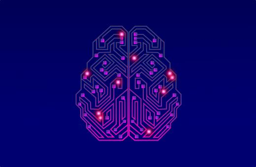 Free Stock Photo of Artificial Intelligence - Bright Brain