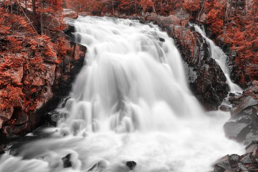 Free Stock Photo of Red Devil Falls