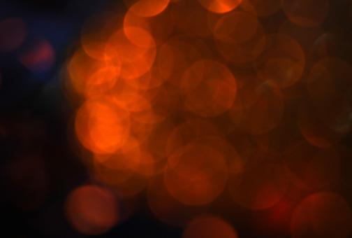 Free Stock Photo of Abstract Golden Light Bokeh Background