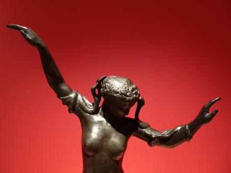 Free Stock Photo of Erotic and psychoanalytic bronze sculpture
