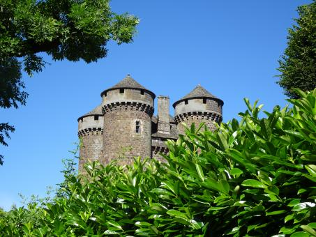 Free Stock Photo of View from the garden of an exceptional medieval castle!