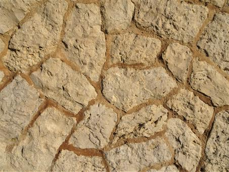 Free Stock Photo of Limestone wall texture