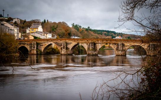 Free Stock Photo of Old roman bridge