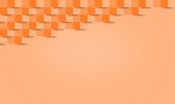 Free Stock Photo of Abstract Orange Geometric Background - With Copyspace