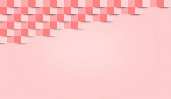 Free Stock Photo of Abstract Pink Geometric Background - With Copyspace