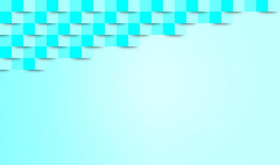 Free Stock Photo of Abstract Turquoise Geometric Background - With Copyspace