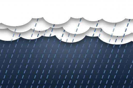 Free Stock Photo of Abstract Rain Clouds - Background with Copyspace