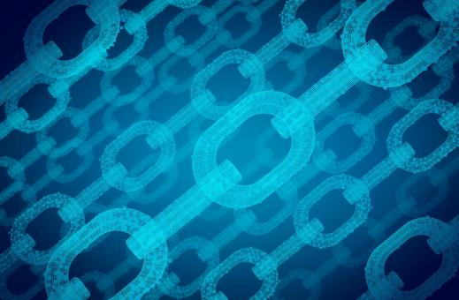 Free Stock Photo of Block Chain Network - Distributed Ledger Technology - Digital Chains