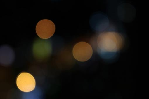 Free Stock Photo of Bokeh light effect with blank black space