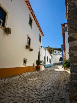 Free Stock Photo of Obidos street