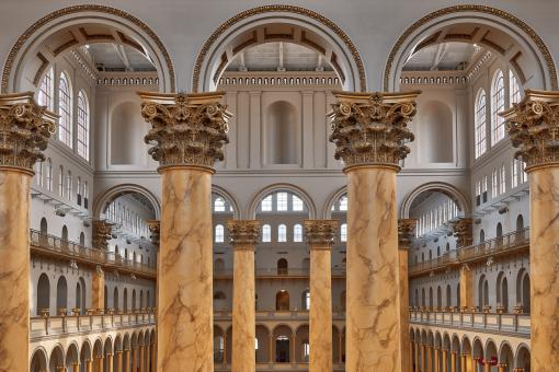 Free Stock Photo of Columns & Archways - National Building Museum