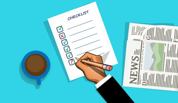 Free Stock Photo of Checklist Form Illustration