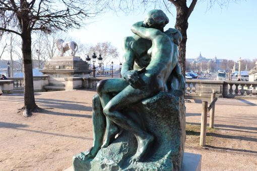 Free Stock Photo of Very famous Rodin's sculpture: