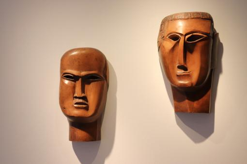 Free Stock Photo of Ossip Zadkine wood sculpture