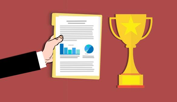 Free Stock Photo of Business Award Illustration