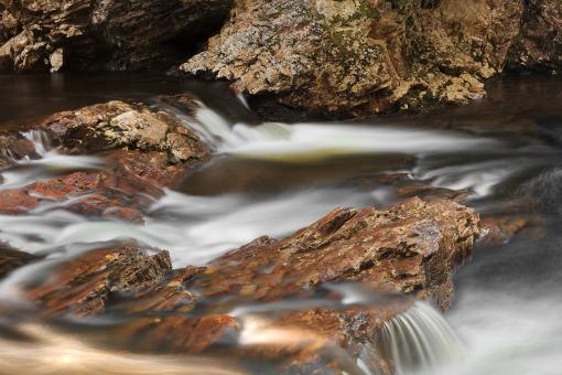 Free Stock Photo of Rugged Beebe River Stream