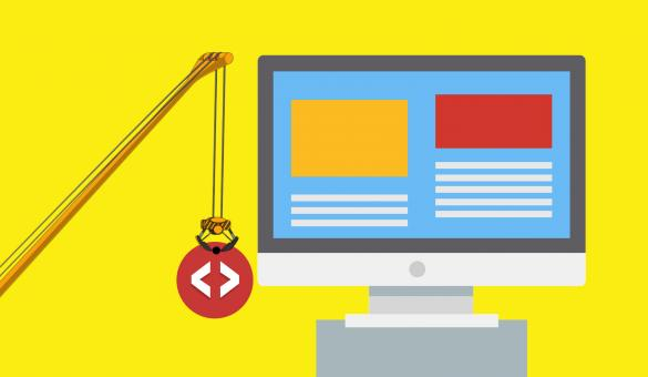 Free Stock Photo of Website Development Illustration
