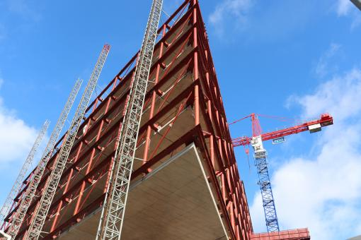 Free Stock Photo of Office building under construction