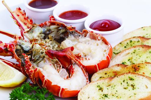 Free Stock Photo of Seafood Lobster Menu