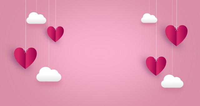 Free Stock Photo of Love Concept - Hearts - with Copyspace