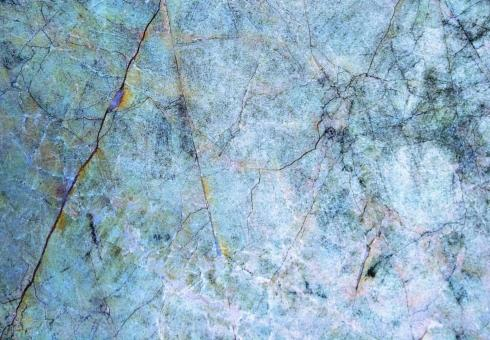 Free Stock Photo of Blue Tinted Abstract Marble Rock Texture Surface