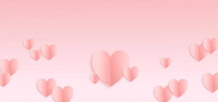 Free Stock Photo of Valentines Day Hearts Background - With Copyspace
