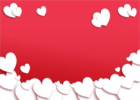 Free Stock Photo of Red Valentines Day Background - With Copyspace